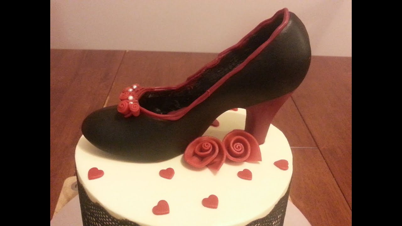 Chocolate Shoe Cake Toppers