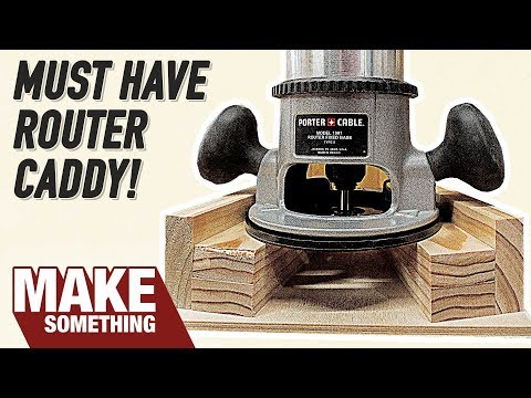 Make Your Router SAFER with this DIY Stand | Easy Woodworking Project