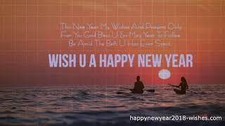 Happy new year 2018 Wishes Images Quotes SMS Messages Greetings