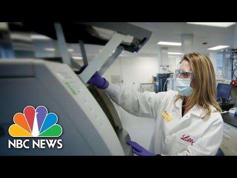 U.S. Launches Two Clinical Trials For Coronavirus Antibody Treatment   NBC Nightly News