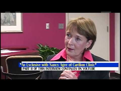 Conversations with Andre Whitehead The Nancy Agee CEO of Carillion Clinic Interview