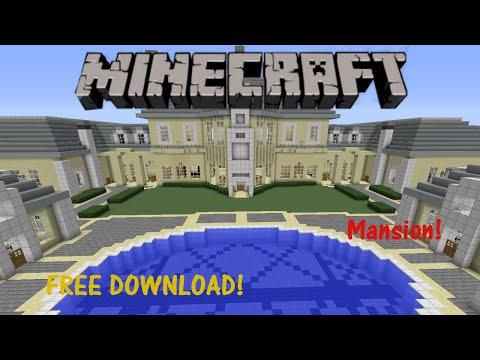 minecraft-mansion!-(map-download)