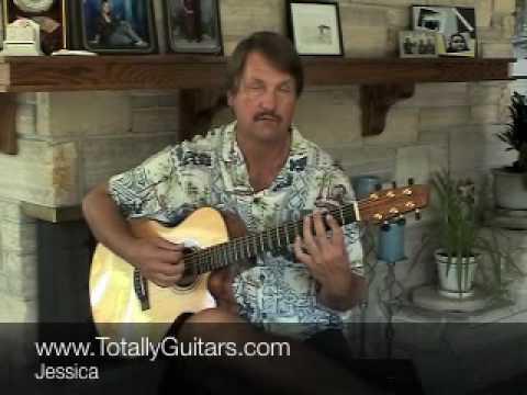 Allman Brothers - Jessica Guitar lesson