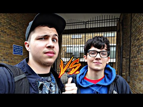 QUANTUMCAZA VS ASA BUTTERFIELD SMASH BROS : VLOG