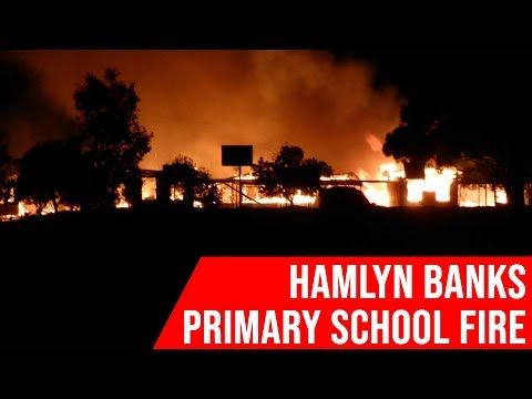Hamlyn Banks School Fire - Seven News Melbourne