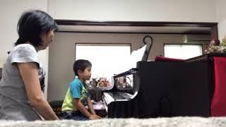 茅ヶ崎市ピアノ教室「年長さんのレッスン」茅ヶ崎の松浦ピアノ教室