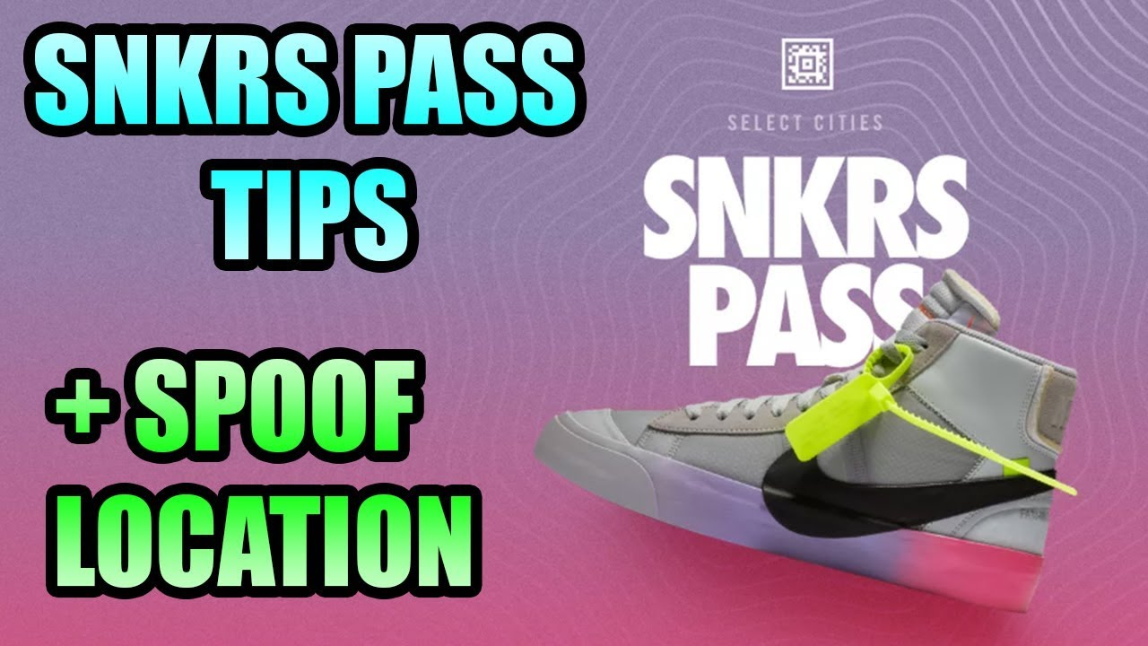 How To Cop From The NIKE SNKRS PASS | How To SPOOF LOCATION With iTools
