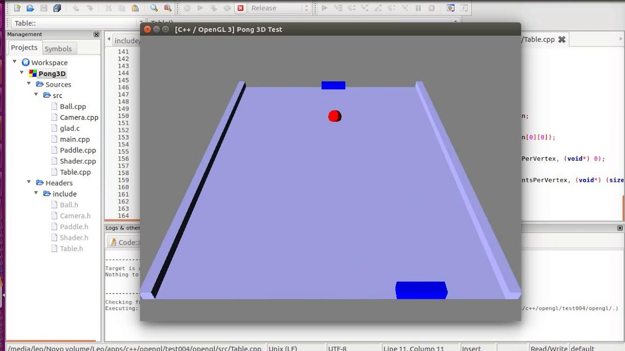 C Pong Code