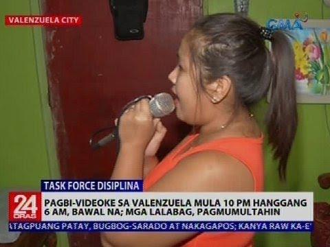 24 Oras: Pagbi-videoke sa Valenzuela mula 10 pm-6 am, bawal na
