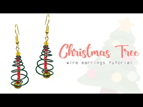 Wire Spiral Christmas Trees - Christmas Craft Tutorial