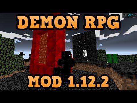 DEMON RPG MOD (1.12.2)! DOS DIMENSIONES, MOBS, ARMADURAS Y MAS...! Minecraft Review En Español 2018