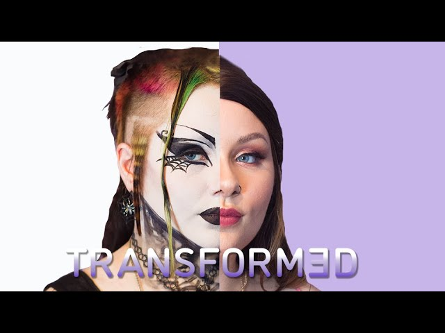 Goth To Sexy Glam - How Will My Mum React? | TRANSFORMED