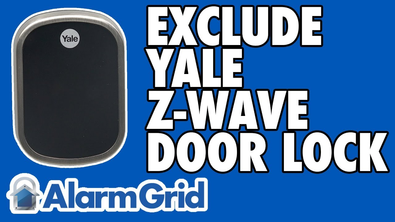 Excluding A Yale Z-Wave Lock