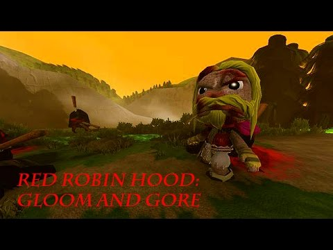 Red Robin Hood: Gloom and Gore - LittleBigPlanet 3 LBP3 PS4