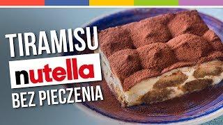 Szybkie ciasto bez pieczenia - TIRAMISU i NUTELLA - Sprytne babki