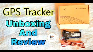 GPS Tracker For Vehicles Unboxing And Review In Hindi -[ Karan Tech ]