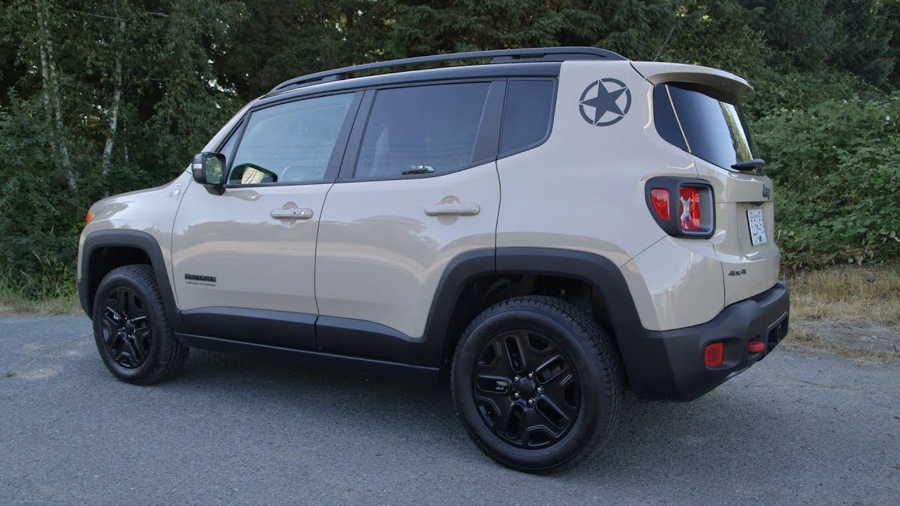 Jeep Renegade Desert Hawk >> 2017 Jeep Renegade Deserthawk