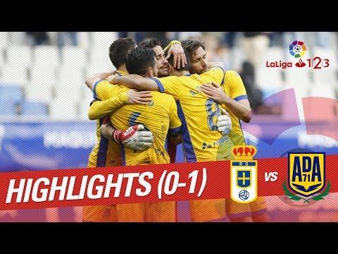 Resumen de Real Oviedo vs AD Alcorcón (0-1)