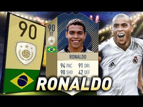 FIFA 18 - Nieugięty ciemiężca! - 90 Ronaldo Nazário!