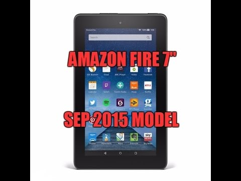 "Amazon Fire 7"" tablet - Unboxing new 2015 model"