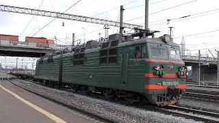 ВЛ80С-1516 встреча с ВЛ80С-1424