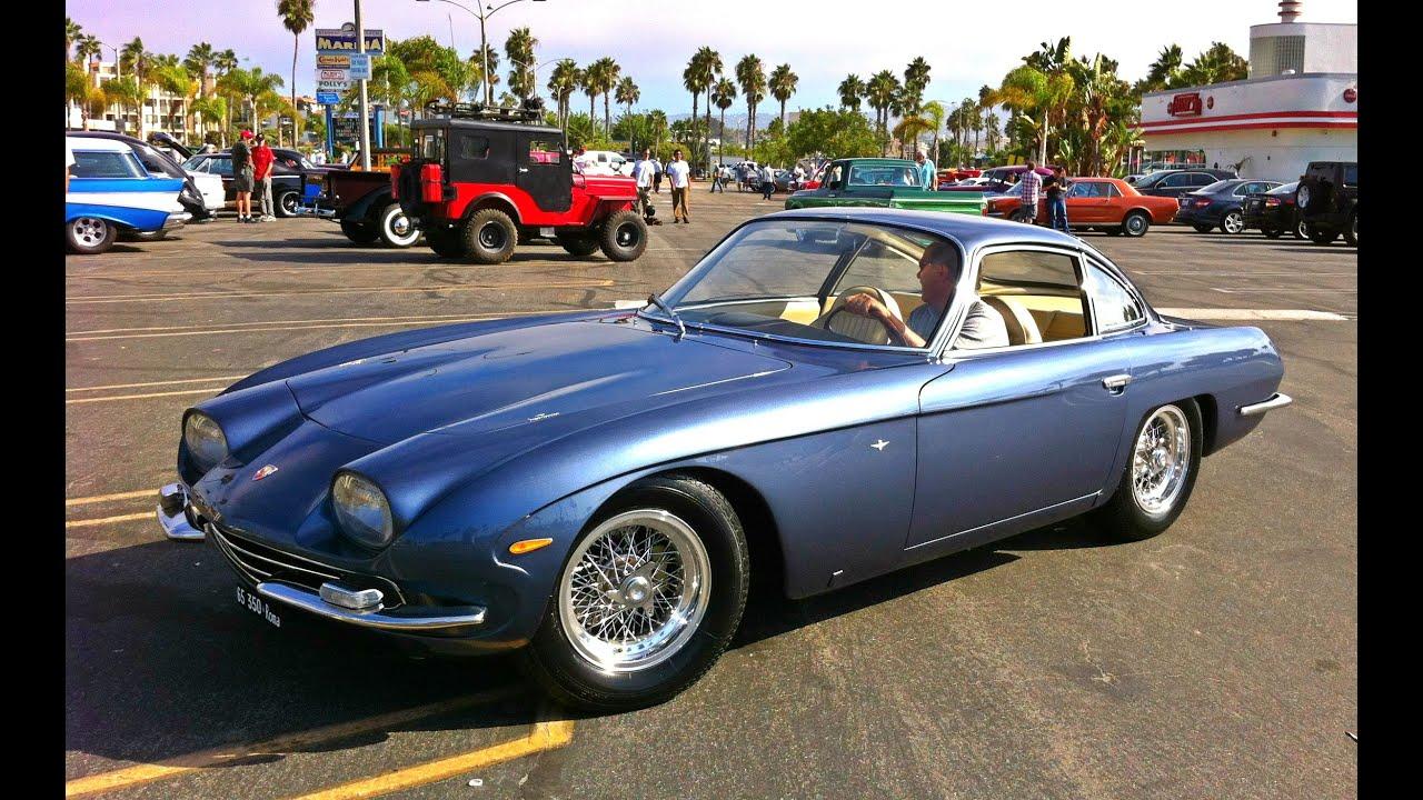 "lamborghini 350 gt 1965 ""very rare exotic sports car"" - youtube"