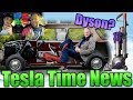 Tesla Time News - Dyson Electric Car? and more!