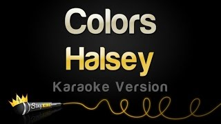 halsey---colors-karaoke-version