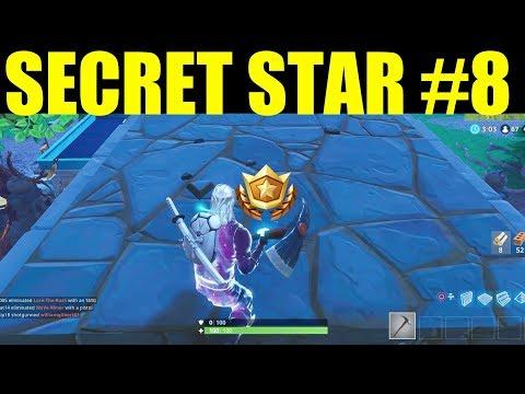 Secret Week 8 Battlestar Location! (Road Trip #8) Fortnite Battle Royale Week 8 Challenges