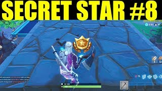 Secret Week 8 Battlestar location! (Road Trip #8) Fortnite Battle Royale Week 8 Challenges