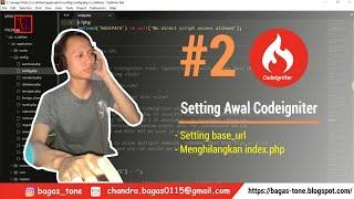 Penting !! Cara Setting base_url dan Menghilangkan index.php