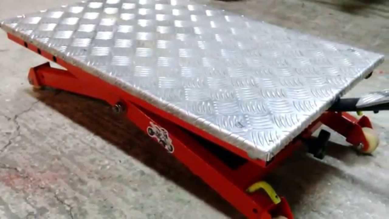 fabriquer une table lvatrice lve quad lve moto  YouTube