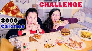 CHALLENGE MANGIAMO 3000 CALORIE in POCHI MINUTI!! - SPECIALE 100 K | Carlitadolce Cucina