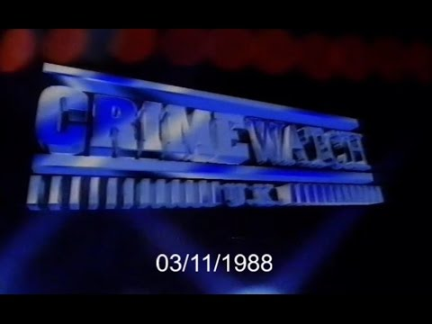Crimewatch U.K - November 1988 (03.11.88)