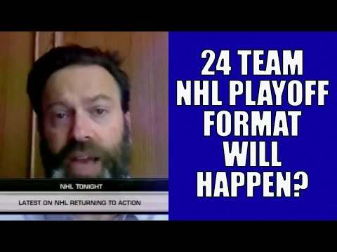 24 Team NHL Stanley Cup Playoff Format WILL Happen?