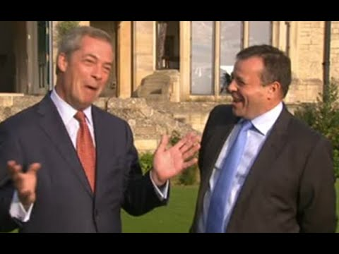 Ukip £1m donor Arron Banks: now the Conservatives know who I am