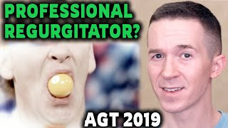 Magician REACTS to Stevie Starr the Professional Regurgitator on AGT The Champions 2019