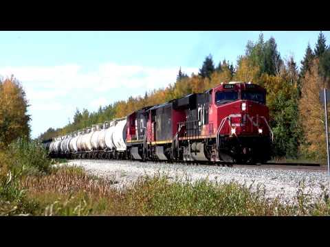 Railfanning Canadian National's Edson Subdivision - Edmonton to Jasper