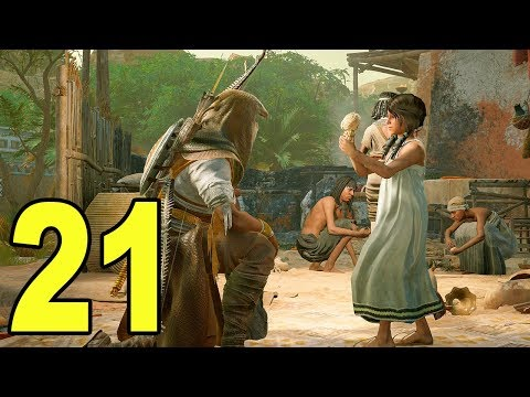 Assassin's Creed Origins - Part 21 - NOT THE LITTLE GIRL 😭