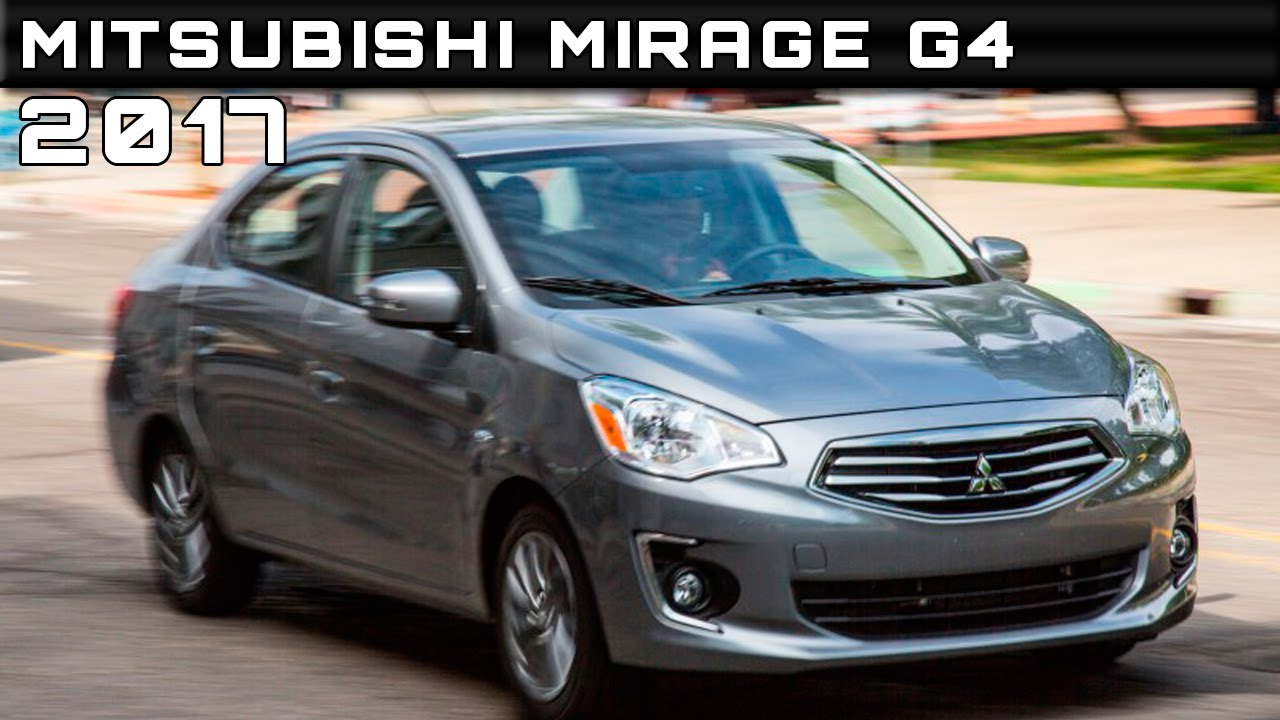 2017 Mitsubishi Mirage G4 Review Rendered Price Specs