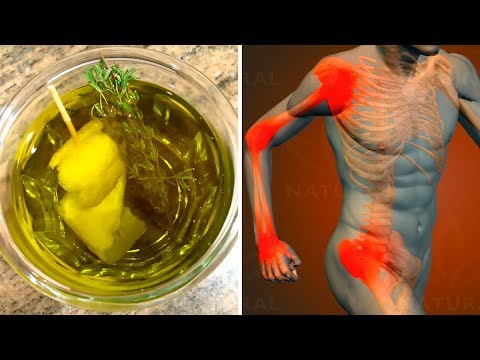 Lemon and Thyme Remedy to Treat and Relieve Arthritis Symptoms