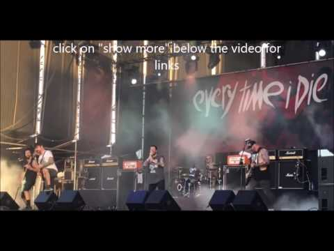 Every Time I Die guest vocals Architects Sam Carter + Josh Middleton of Sylosis