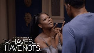 Veronica Pushes David Too Far  Tyler Perrys The Haves and the Have Nots  Oprah Winfrey Network