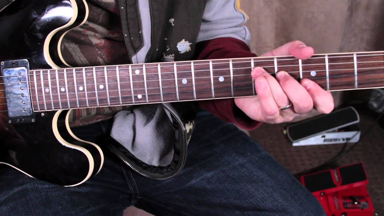 Robben Ford Inspired Rhythm Lesson - part 1 Blues Rock ...