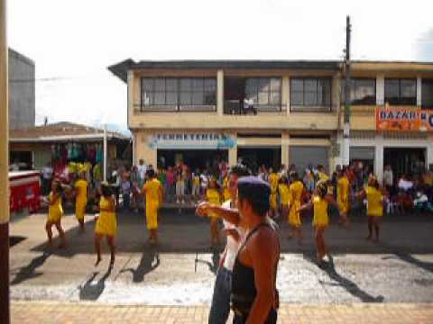 Kichwa Parade @Archidona, Napo, Ecuador.