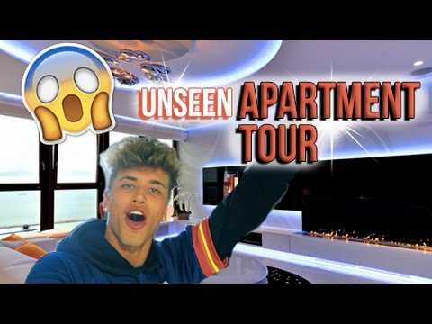 NEVER BEFORE SEEN APARTMENT TOUR! // Nate Garner