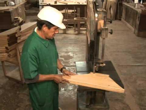 Como se hacen los muebles parte i youtube - Como se elabora una silla de madera ...