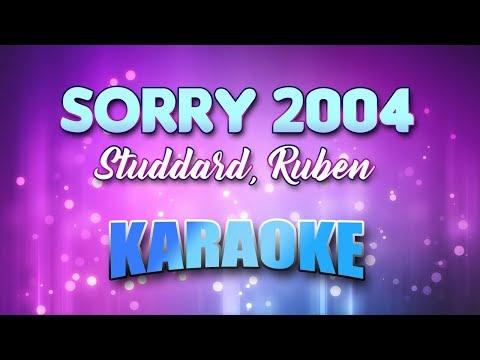 Studdard, Ruben - Sorry 2004 (Karaoke & Lyrics)
