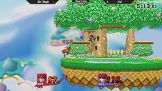 ESV Smash 4 Weekly #5 - LAGr   Shoghi (Roy, Robin) vs IrisZ (Link, Roy)