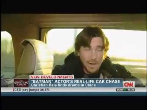THE DARK KNIGHT RISES Star Christian Bale Involved In Real Life Police Chase In China